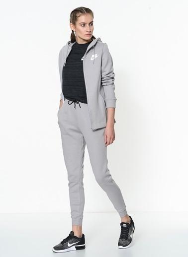 Kapüşonlu Fermuarlı Sweatshirt-Nike